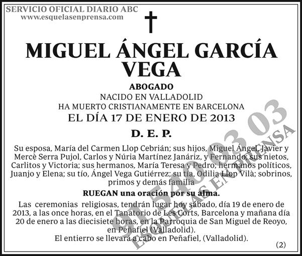 Miguel Ángel García Vega